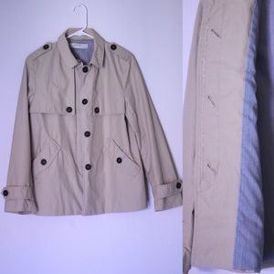 Zara Basic beige trench coat